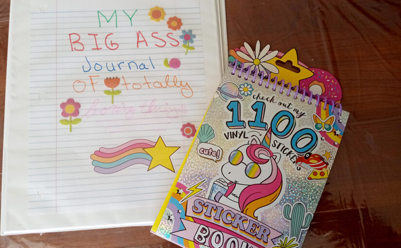 My Big Ass Journal of Totally Boring Things